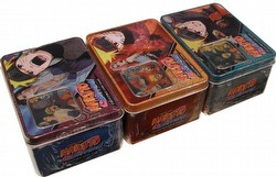 Naruto: Fierce Ambitions Tin Set [3 tins/1 of each design]