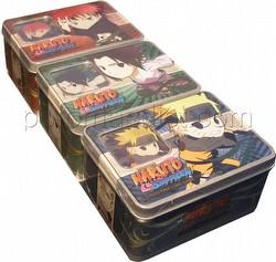 Naruto: Ultimate Battle Chibi Tin Set [3 tins]