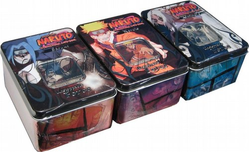 Naruto: Unstoppable Force Tin Set [3 tins/1 of each design]