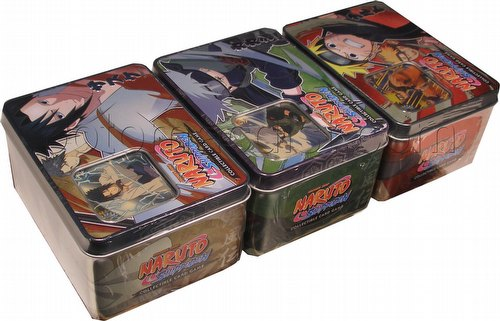 Naruto: Unbound Power Tin Case [12 tins]