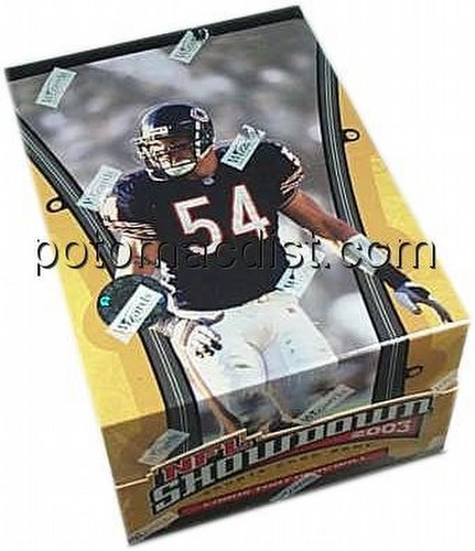 NFL Showdown: 2003 Draft Pack Box