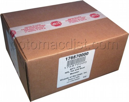NFL Showdown: 2003 First & Goal Booster Box Case [6 boxes]