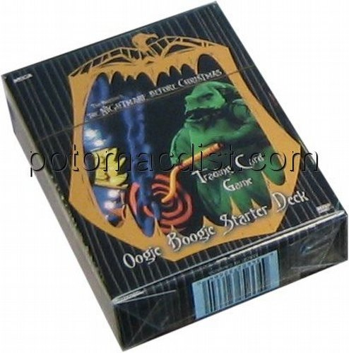 Nightmare Before Christmas Trading Card Game [TCG]: Oogie Boogie Starter Deck