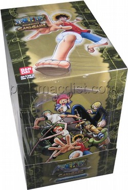 One Piece Collectible Card Game [CCG]: Quest Begins 2-Player Starter Deck Box