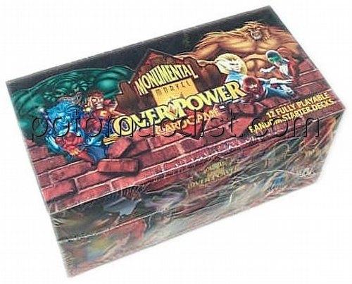 Overpower: Marvel Monumental Starter Deck Box