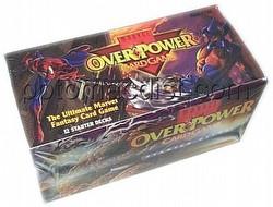 Overpower: Marvel Starter Deck Box