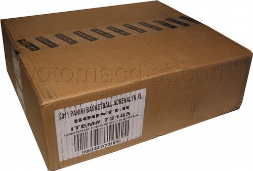 2010/2011 Panini Adrenalyn XL Trading Card Game Basketball Booster Case [12 boxes]