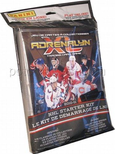 2010/2011 Panini Adrenalyn XL Trading Card Game Hockey Starter Kit