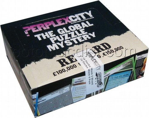 Perplex City Perplexcity Packs Box [18 Wave 1, 2, & 3 packs/18 Wave 4 only packs]