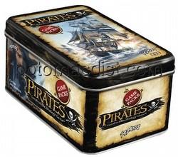 Pirates Constructible Strategy Game [CSG]: Tin Display Box [16 tins/2nd Edition]
