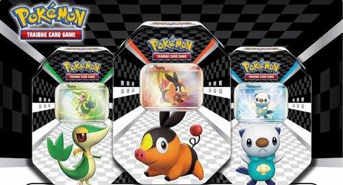 Pokemon TCG: 2011 Black & White Sneak Peek Tin Case [9 tins]