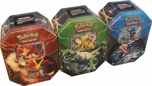 Pokemon TCG: 2014 Kalos Power Tin Set [3 tins/Summer 2014]