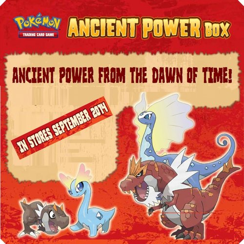 Pokemon TCG: Ancient Power Box