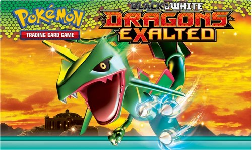 Pokemon TCG: Black & White Dragons Exalted Booster Box Case [6 boxes]