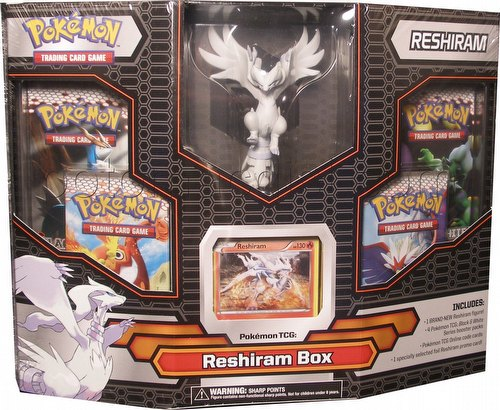 Pokemon: Black & White Legendary Reshiram Figure Box