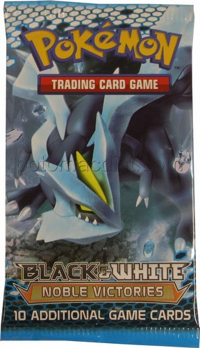 Pokemon TCG: Black & White Noble Victories Booster Pack