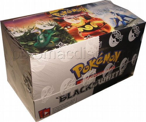 Pokemon TCG: Black and White Theme Starter Deck Box