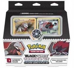 Pokemon TCG: Black & White Trainer Kit Case [4 boxes]