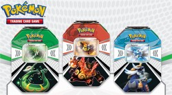 Pokemon TCG: Evolved Battle Action Tin Case [9 tins]