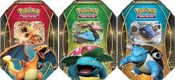 Pokemon TCG: EX Power Trio Tin Set [3 tins/Fall 2014]