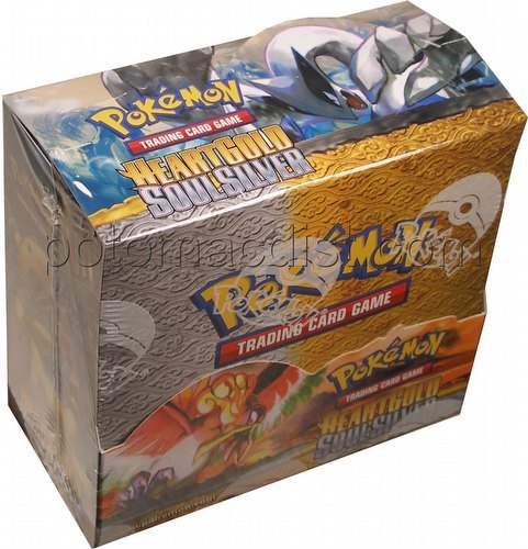 Pokemon TCG: HeartGold & SoulSilver (Heart Gold and Soul Silver) Booster Box