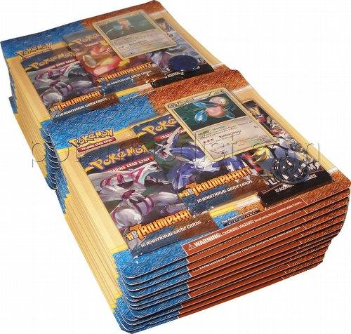 Pokemon TCG: HeartGold & SoulSilver Triumphant 3-Pack Blister Lot [24 loose blister packs]