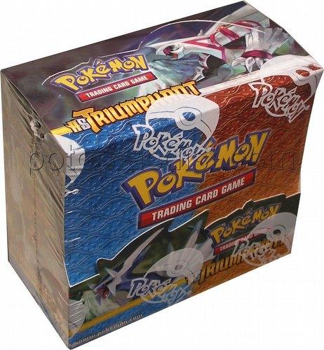 Pokemon TCG: HeartGold & SoulSilver (Heart Gold and Soul Silver) Triumphant Booster Box