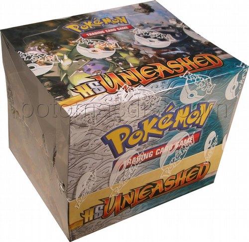 Pokemon TCG: HeartGold & SoulSilver (Heart Gold and Soul Silver) Unleashed Theme Starter Deck Box