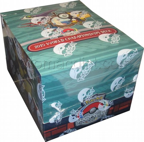 Pokemon TCG: 2015 World Championships Starter Deck Box