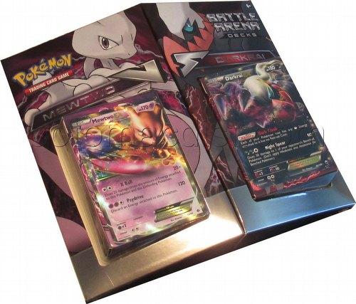 Pokemon TCG: Battle Arena Decks - Mewtwo Vs. Darkrai Set