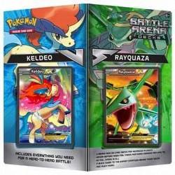 Pokemon TCG: Battle Arena Decks - Rayquaza Vs. Keldeo Case [8 boxes]