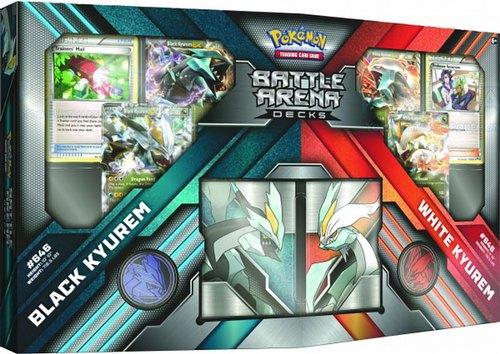 Pokemon TCG: Battle Arena Decks - Black Kyurem Vs. White Kyurem Set