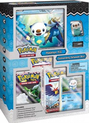 Pokemon TCG: Outstanding Oshawott Starter Figure Set Box