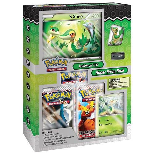 Pokemon TCG: Super Snivy Starter Figure Set Box