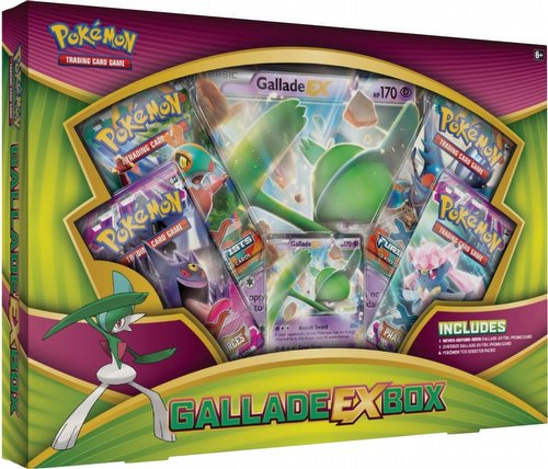 Pokemon TCG: Gallade-EX Box