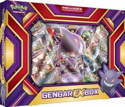 Pokemon TCG: Gengar-EX Box