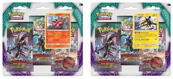 Pokemon TCG: Sun & Moon Guardians Rising 3-Pack Blister Booster Set [2 packs]