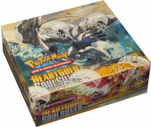 Pokemon TCG: HeartGold & SoulSilver Booster Box [Spanish/36 packs/5 cards per pack]