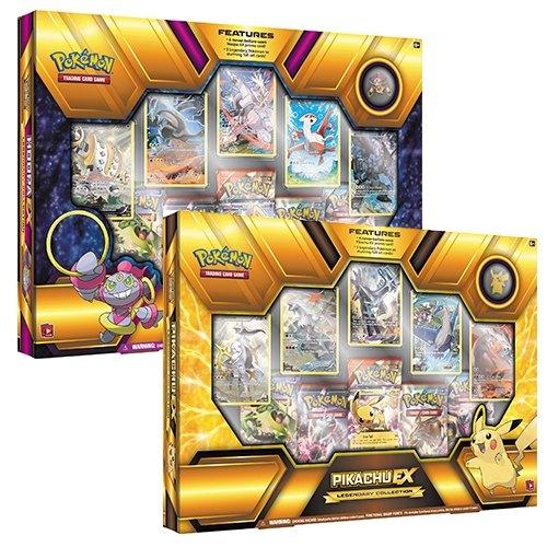 Pokemon TCG: Legendary Hoopa-EX & Pikachu-EX Collectors Box Set [1 of each box]
