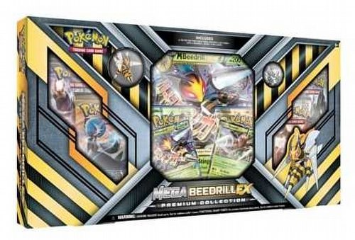 Pokemon TCG: Mega Beedrill-EX Premium Collection Case [12 boxes]