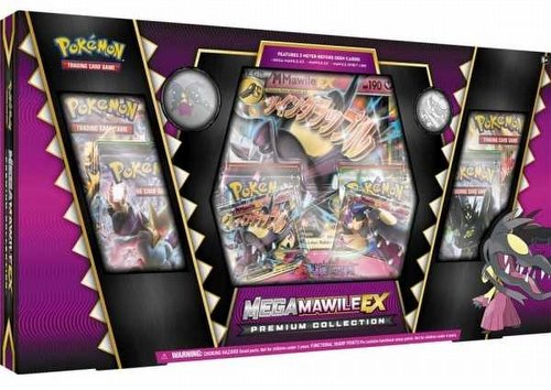 Pokemon TCG: Mega Mawile-EX Premium Collection Box