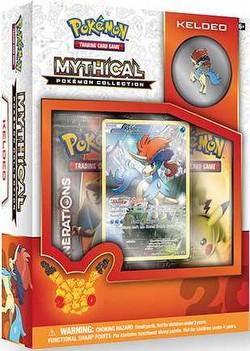 Pokemon TCG: Mythical Pokemon Collection - Keldeo Box
