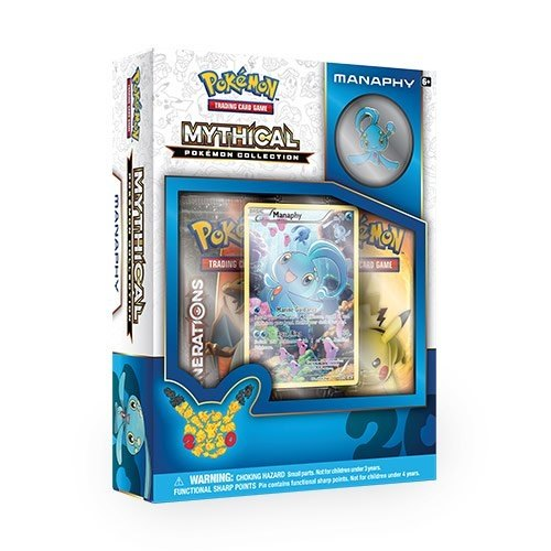 Pokemon TCG: Mythical Pokemon Collection - Manaphy Case [24 boxes]