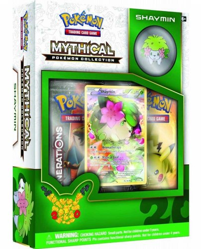 Pokemon TCG: Mythical Pokemon Collection - Shaymin Box