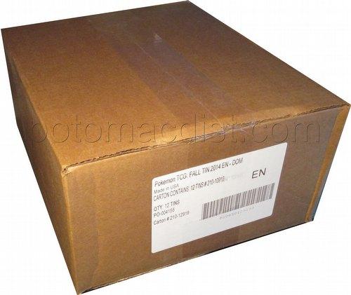 Pokemon TCG: EX Power Trio Tin Case [12 tins/Fall 2014]