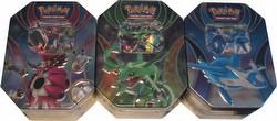Pokemon TCG: Powers Beyond Tin Set [3 tins]