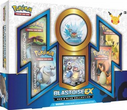 Pokemon TCG: Red & Blue Collection Blastoise-EX Box