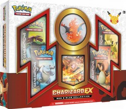Pokemon TCG: Red & Blue Collection Charizard-EX Box