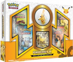 Pokemon TCG: Red & Blue Collection Pikachu-EX Box
