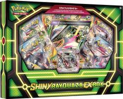 Pokemon TCG: Shiny Rayquaza-EX Box
